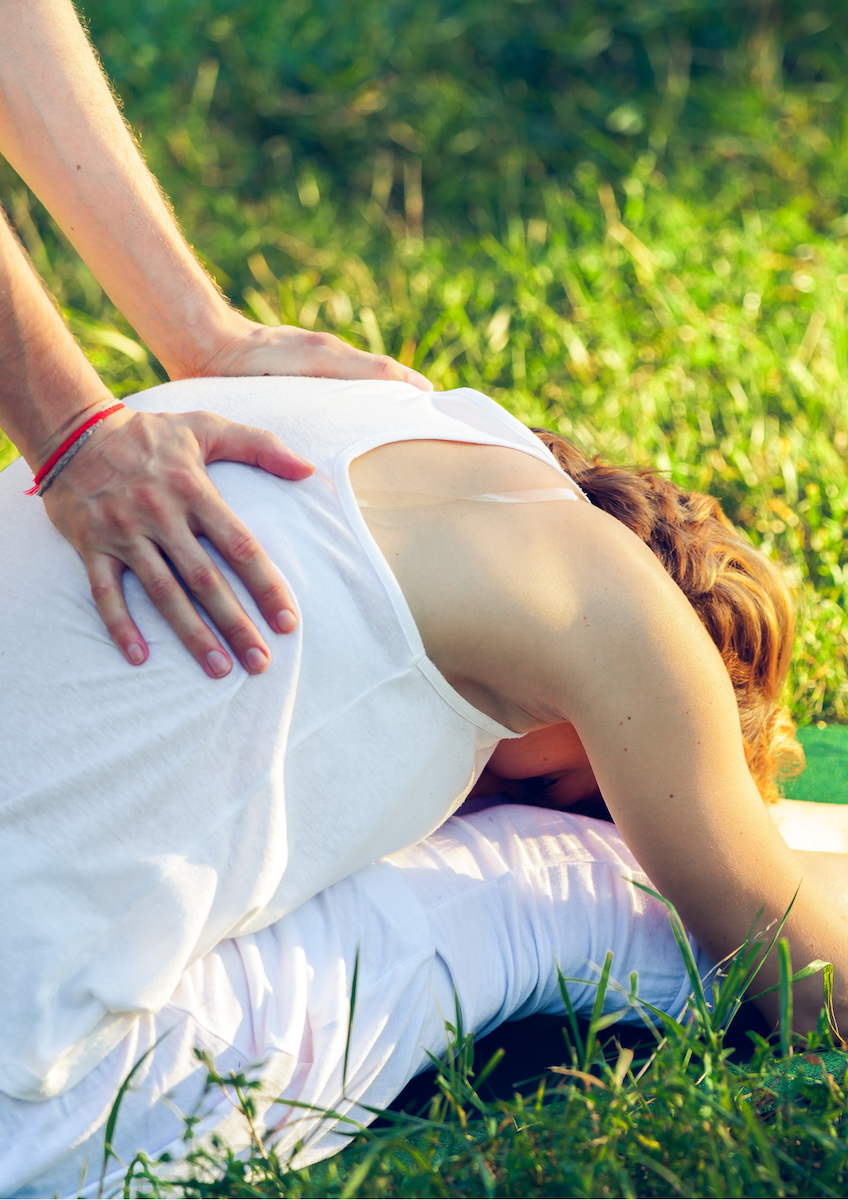 Let the life energy flow again with one-on-one Thai yoga massage